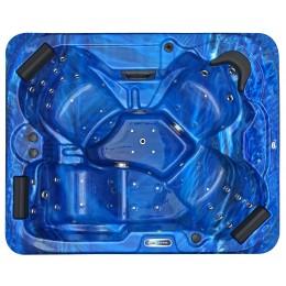 Hot tub outdoor spa SPAtec 500B azul