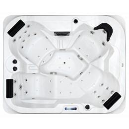Hot tub outdoor spa SPAtec 500B blanco