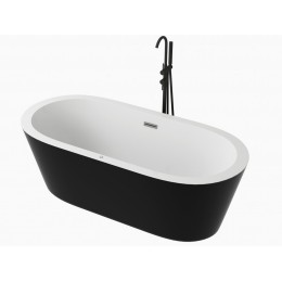 freestanding whirlpool bathtub Spatec Nera