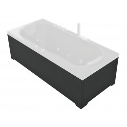 Skirts for rectangular whirlpool bathtub